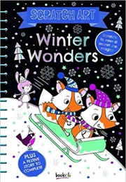 Giant Scratch Art Winter Wonders | Books