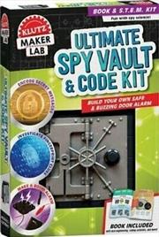 Ultimate Spy Vault Code Kit | Paperback Book
