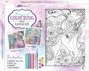 Magical Colouring Canvas Twin | Colouring Book