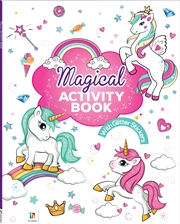 My Glittery Sticker Activity Book: Magical | Books