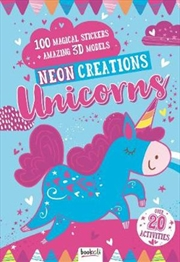 Neon Creations Make Your Own Unicorn Models | Spiral Bound