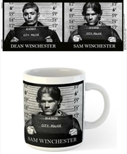 Supernatural Mug Shots | Merchandise