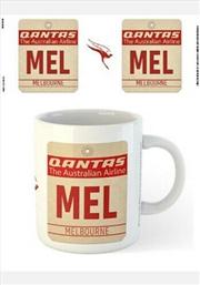 Qantas Mel Airport Code Tag | Merchandise