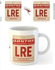 Qantas - LRE Airport Code Tag | Merchandise