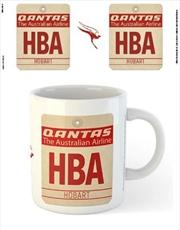 Qantas - HBA Airport Code Tag | Merchandise