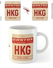Qantas - HKG Airport Code Tag | Merchandise