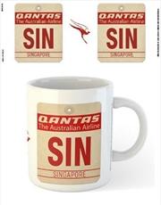 Qantas - SIN Airport Code Tag | Merchandise