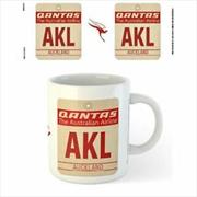 Qantas - AKL Airport Code Tag | Merchandise