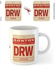 Qantas - DRW Airport Code Tag | Merchandise