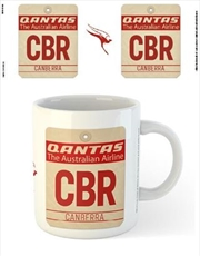 Qantas - CBR Airport Code Tag | Merchandise