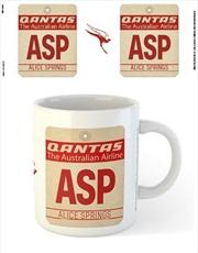 Qantas - ASP Airport Code Tag | Merchandise