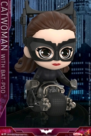 Batman Dark Knight Rises - Catwoman with Batpod Cosbaby Set | Merchandise