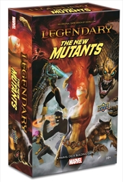 Marvel Legendary - New Mutants Deck-Building Game Expansion | Merchandise