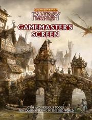 Warhammer Fantasy RPG 4th Edition - Gamemasters Screen | Merchandise