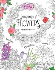 Language Of Flowers Colouring | Books