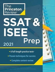 Ssat & Isee Prep 2021 | Paperback Book