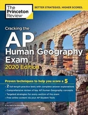 Cracking the AP Human Geography Exam, 2020 Edition | Paperback Book