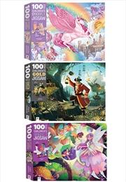 Assorted Designs 100pc Childrens Puzzle   Merchandise