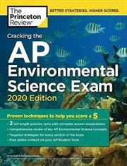 Cracking the AP Environmental Science Exam, 2020 Edition | Paperback Book