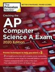 Cracking the AP Computer Science A Exam, 2020 Edition | Paperback Book