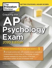 Cracking the AP Psychology Exam, 2020 Edition | Paperback Book