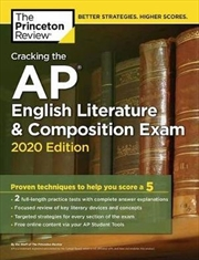 Cracking the AP English Literature & Composition Exam, 2020 Edition | Paperback Book