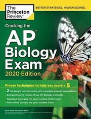 Cracking the AP Biology Exam, 2020 Edition | Paperback Book