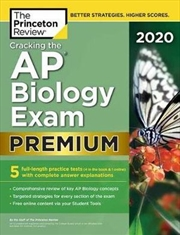 Cracking the AP Biology Exam 2020, Premium Edition | Paperback Book