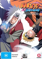 Naruto Shippuden Chakra - Collection 3 - Eps 141-212 | DVD