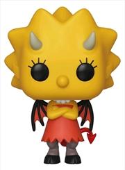 Simpsons - Lisa as Devil Pop! Vinyl | Pop Vinyl