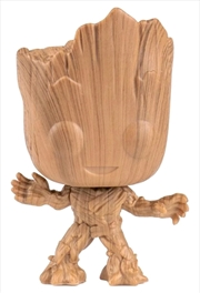 Guardians of the Galaxy: Vol. 2 - Groot Wood Deco US Exclusive Pop! Vinyl [RS] | Pop Vinyl