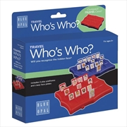 Travel Who's Who Game | Merchandise