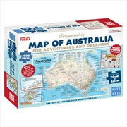 Adventures Dreamers Map Poster 1000pc   | Merchandise