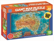 Down Under Giant Map 300pc | Merchandise
