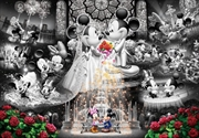 Tenyo Disney Mickey & Minnie Forever Promise Wedding Dream Frost Art Puzzle 1,000 pieces | Merchandise