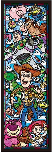 Tenyo Disney Toy Story Stained Glass Puzzle 456 pieces | Merchandise