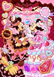 Tenyo Disney Mickey & Minnie's Melty Sweet Time Puzzle 500 pieces | Merchandise