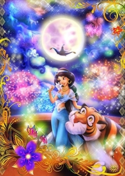 Tenyo Disney Jasmine and Aladdin's Love Magic Puzzle 266 pieces | Merchandise
