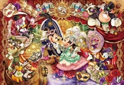 Tenyo Disney Magnificent Masquerade Invitation Puzzle 1,000 pieces | Merchandise