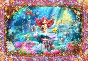 Tenyo Disney the Little Mermaid Ariel Beautiful Mermaid Puzzle 500 pieces | Merchandise