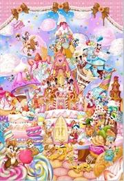 Tenyo Disney Mickey's Sweet Kingdom Puzzle 266 pieces | Merchandise