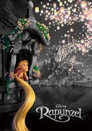 Tenyo Disney Rapunzel Light to the Future Puzzle 1,000 pieces | Merchandise