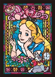 Alice In Wonderland - Alice Stained Glass 266 Piece Puzzle | Merchandise