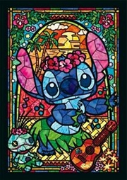 Tenyo Disney Stitch Stained Glass Puzzle 266 pieces   Merchandise