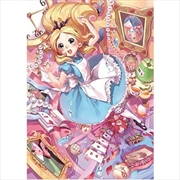 Tenyo Disney Welcome to Alice Wonderland Puzzle 266 pieces | Merchandise