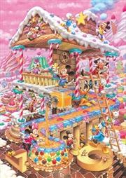 Tenyo Disney Fantastical Treats House Puzzle 266 pieces   Merchandise