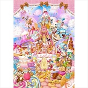 Tenyo Disney Mickey's Sweet Kingdom Puzzle 1,000 pieces | Merchandise