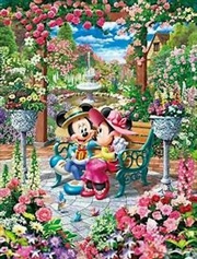Tenyo Disney Mickey & Minnie Blooming Love Royal Garden Puzzle 500 pieces | Merchandise