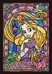 Tenyo Disney Rapunzel Stained Glass Puzzle 266 pieces | Merchandise