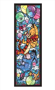Tenyo Disney Winnie the Pooh Stained Glass Puzzle 456 pieces | Merchandise